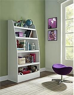 ameriwood home hazel kidsu0027 4 shelf bookcase white