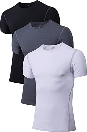 Mens CoolBase Compression Under Base layer Leggings Skin Shirt Black Armour Gift