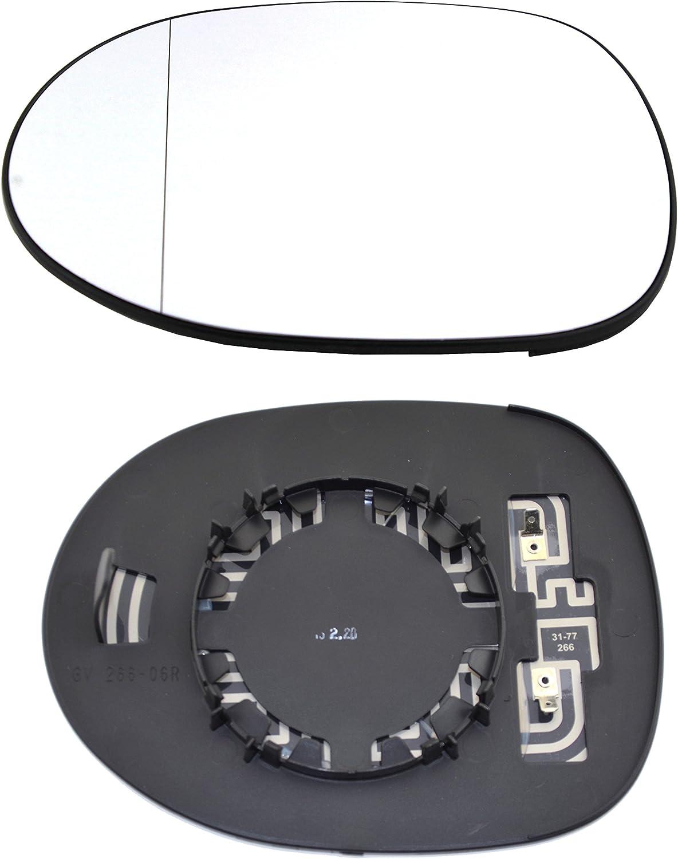 TarosTrade 57-8900-L-71794 Vetro Specchietto Retrovisore Riscaldabile Lato Sinistro