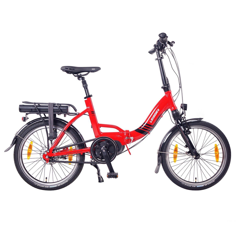 Bicicleta Plegable Eléctrica, Leisger F4 20