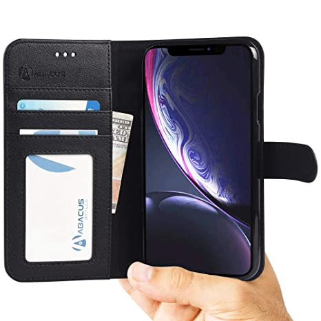 coque cuir iphone xr portefeuille