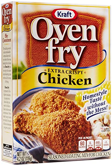 Image result for kraft oven fry extra crispy chicken