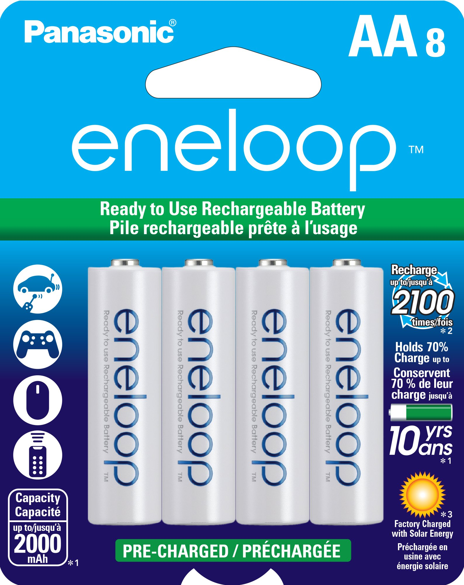 Best Rated in AA Batteries & Helpful Customer Reviews