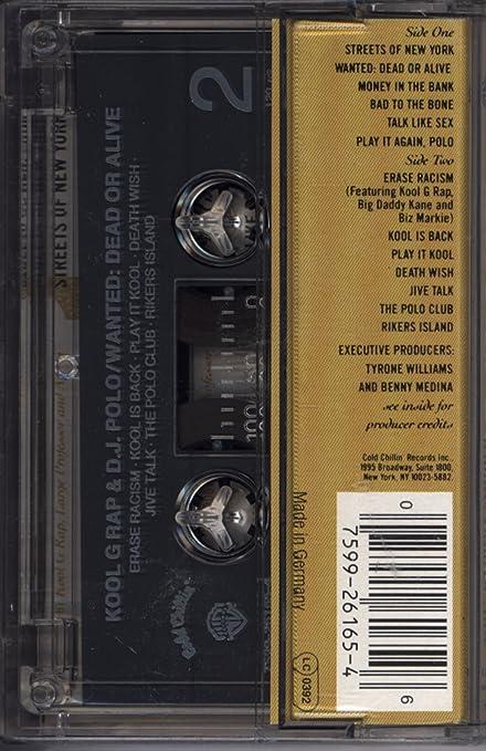 Wanted: Dead or Alive : Kool G Rap & DJ Polo: Amazon.es: Música