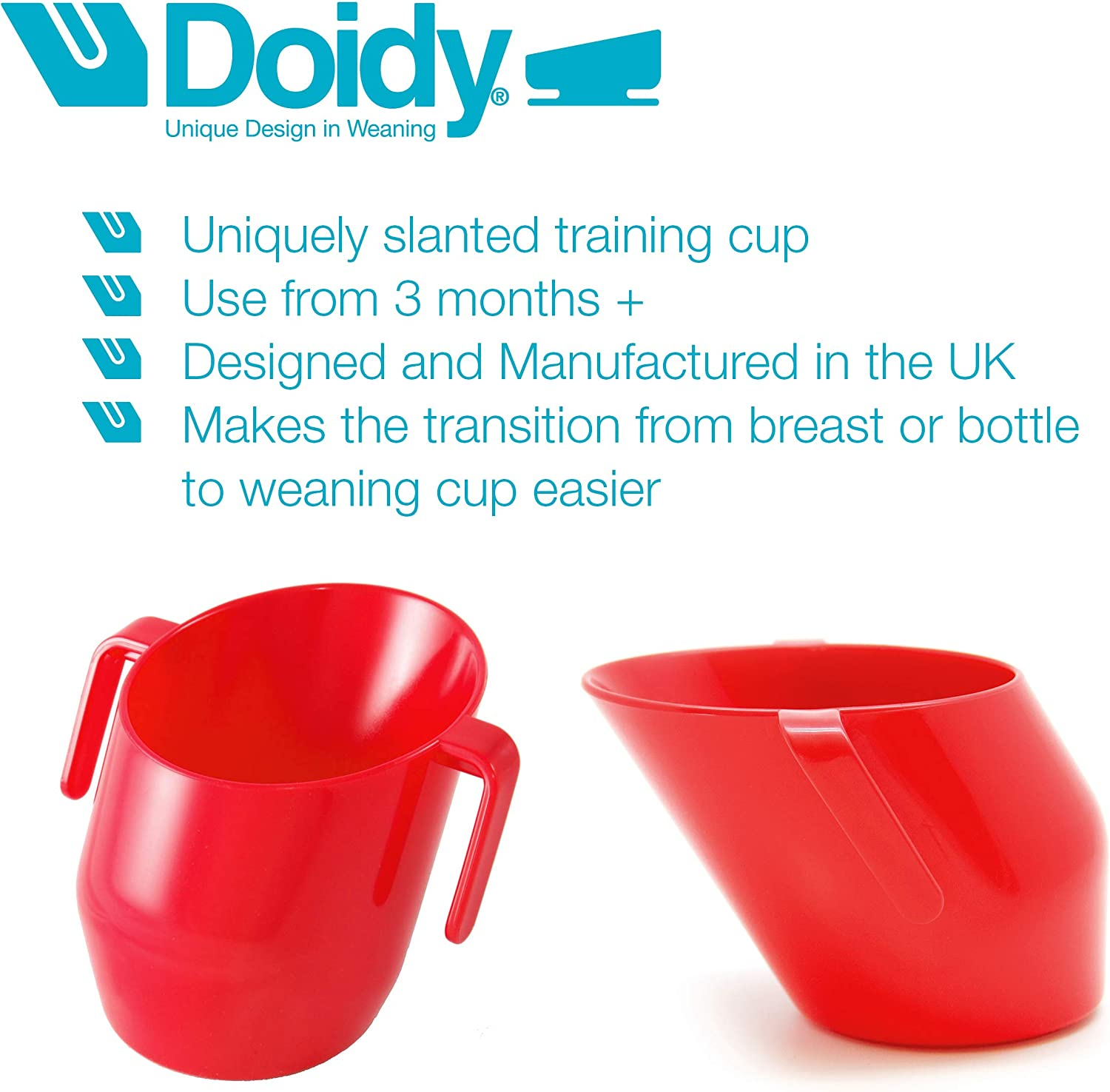 Doidy Baby Training Cup RED