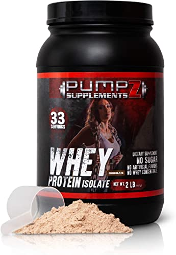 Whey Protein Powder Clean, Native Whey Protein Isolate – No Artificial Sweeteners or Flavors Purest Form Whey Isolate Protein Powder No Additives or Fillers 2 LB 2lb Chocolate