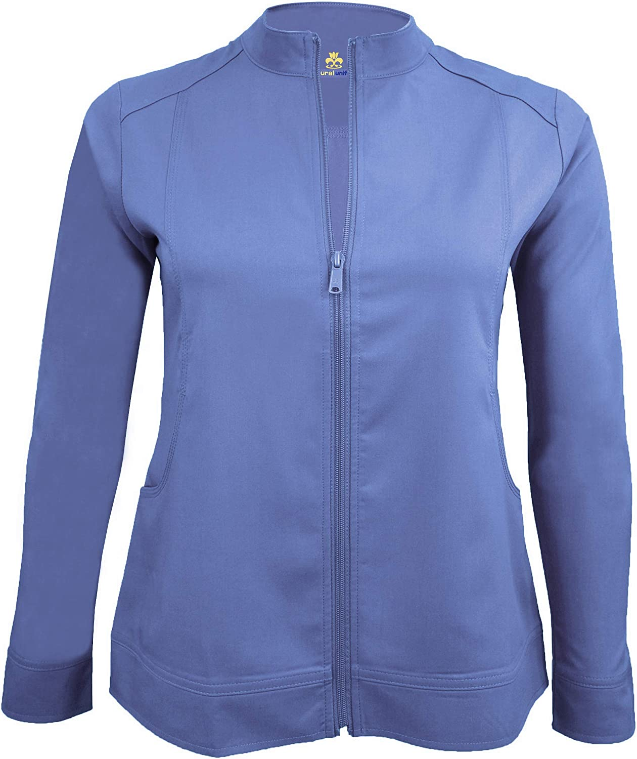 Natural Uniforms Women's Ultra Soft Stretch Front Zip Workwear Warm-Up Jacket (5200)