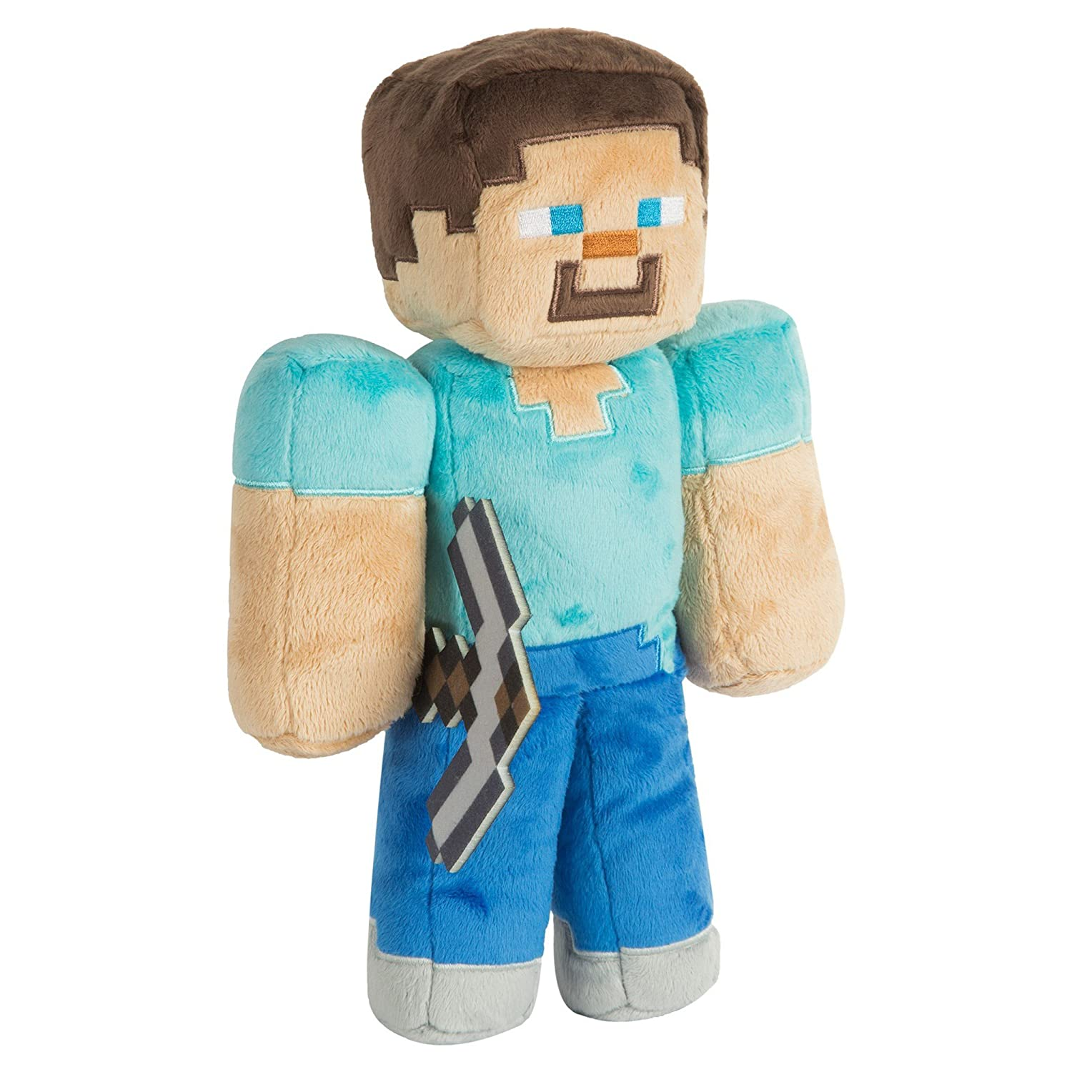"Minecraft 12"" Steve Plush Stuffed Toy JINX 7179"
