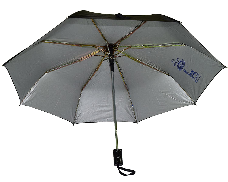 96300c8b5 Stag Tri-Fold Automatic Umbrella (Black): Amazon.in: Bags, Wallets & Luggage