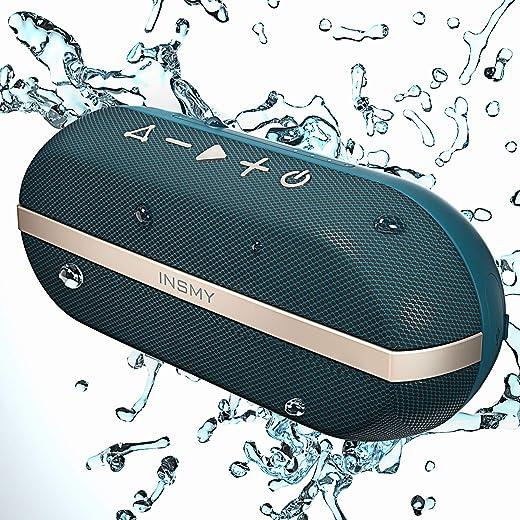 Portable Bluetooth Speakers, 20W Wireless Speaker Loud Stereo Sound Rich Bass, IPX7 Waterproof Floating, TWS Stereo