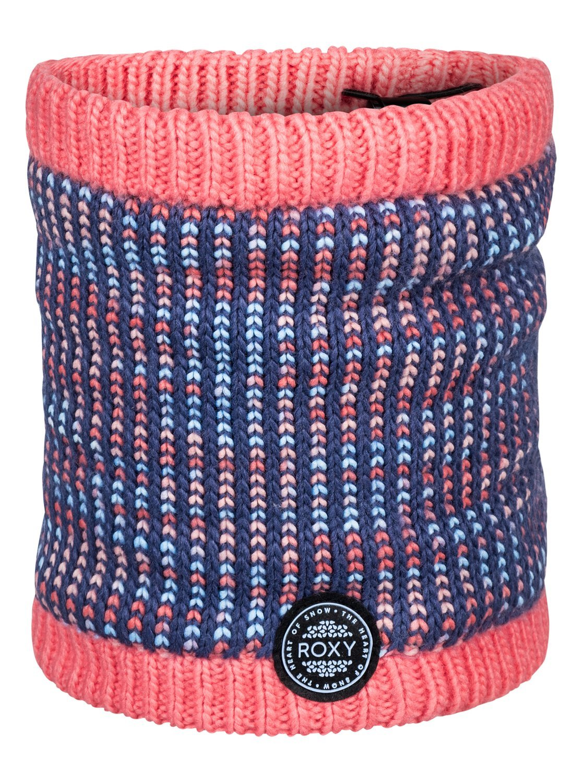Roxy Girls' Little Snowflurry Snow Collar Gaiter, crown blue 1SZ