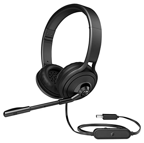 HP 500 cuffia usb con microfono 6ef479076ae9