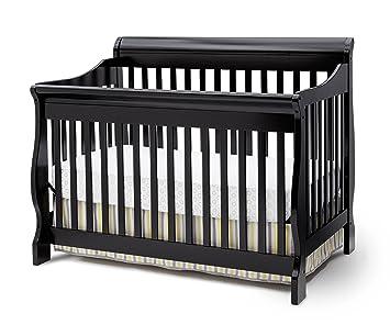 delta children canton 4in1 convertible crib black