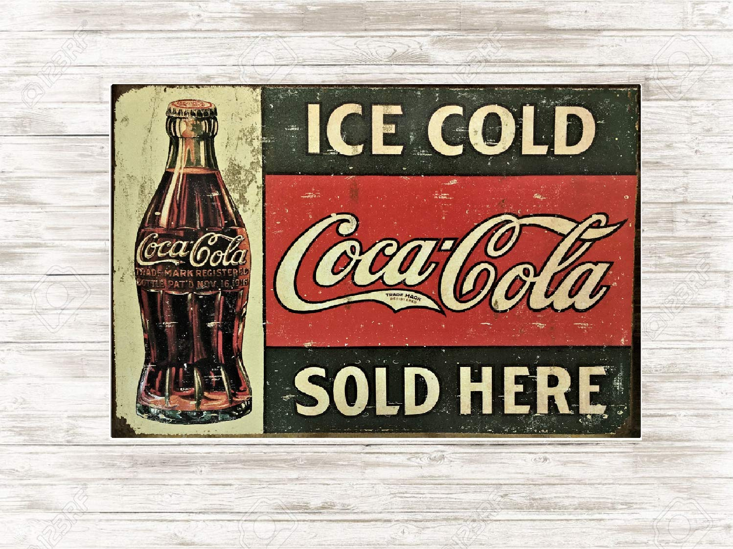 Coca Cola Retro METAL SIGN 2 Sizes Available ideal for pub bar Man Cave bottles
