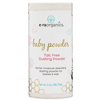 97ee9ab802c67 Baby Powder Talc Free - USDA Certified Organic Dusting Powder for Excess  Moisture & Chaffing...