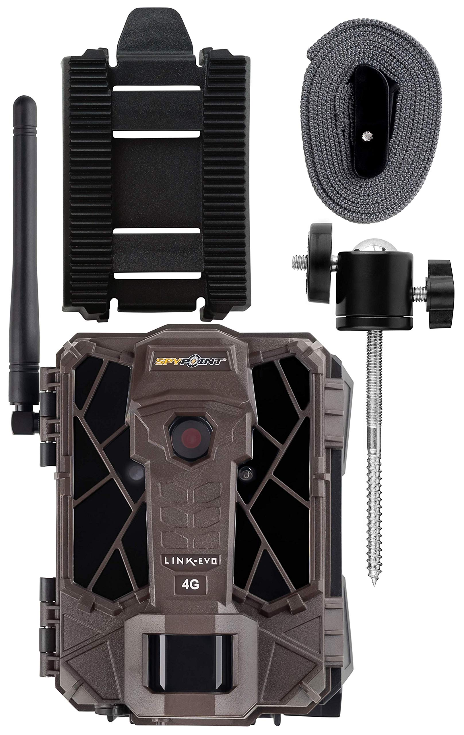 Spypoint Link-Evo-V Cellular Trail Camera with Mount by SPYPOINT