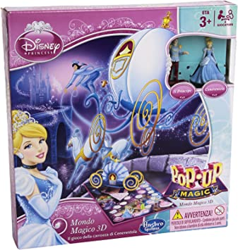 Hasbro - Princesas Disney, Juego de Mesa, para 2 Jugadores (versión en Italiano): Amazon.es: Juguetes y juegos