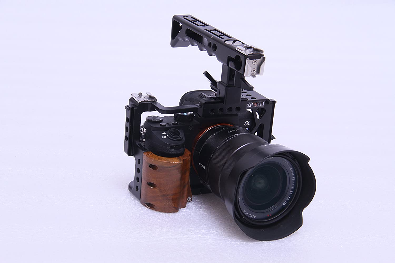 Sony A7ii A7RII A7SII cámara Jaula con asa Superior: Amazon.es ...