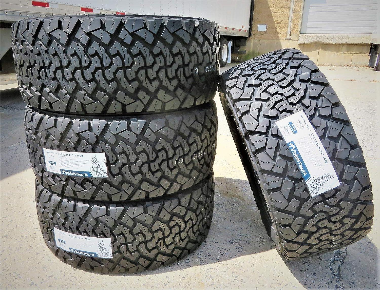 Venom Power Terrain Hunter X//T All-Terrain Radial Tire-33X12.50R18LT 118R LRE 10-Ply