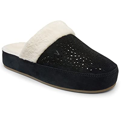 Vionic Women's Sublime Leona Mule Slipper - Ladies Comfortable House Slippers with Concealed Orthotic Arch Support | Slippers