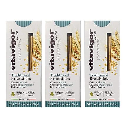 grissini Breadsticks (3-Pack) (tradicional): Amazon.com ...