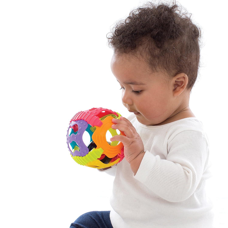 Farblich sortiert Playgro Bend /& Twist Ball Bunt 40186 Ab 6 Monaten BPA-frei