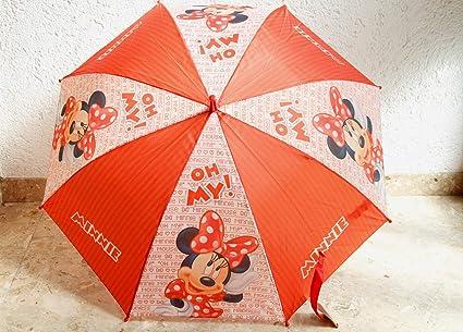 Paraguas Minnie Disney automatico 48cm surtido