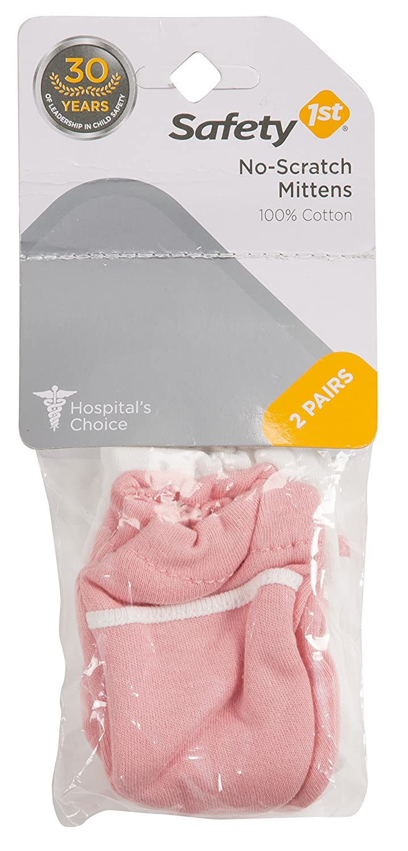 Safety 1st No Scratch Mittens Pink Packs