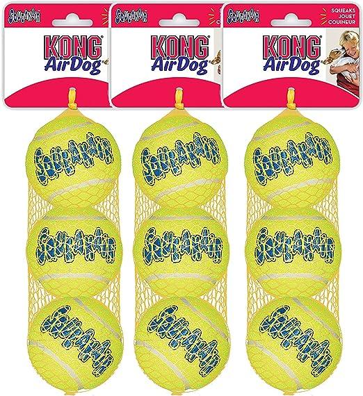 Kong Air Con silbador Pelotas De Tenis Paquete de 3 Tamaño:Mediano ...