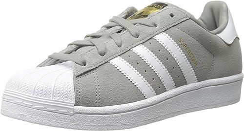 Adidas Superstar Suede Women US 11 Gray