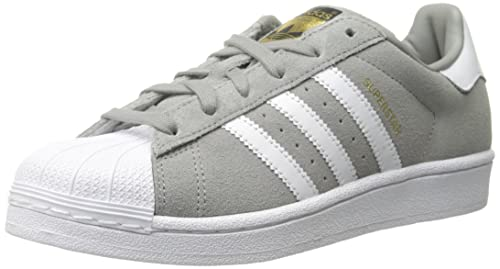 new style 9c01a fc966 Adidas Superstar Suede Donna US 11 Grigio Scarpe ginnastica  Amazon.it   ADIDAS  Libri