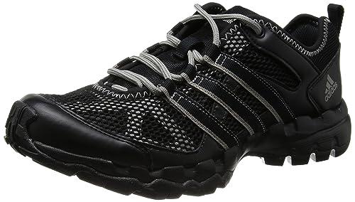 adidas Sports Hiker - Botas de montaña para hombre, color negro/rojo / gris