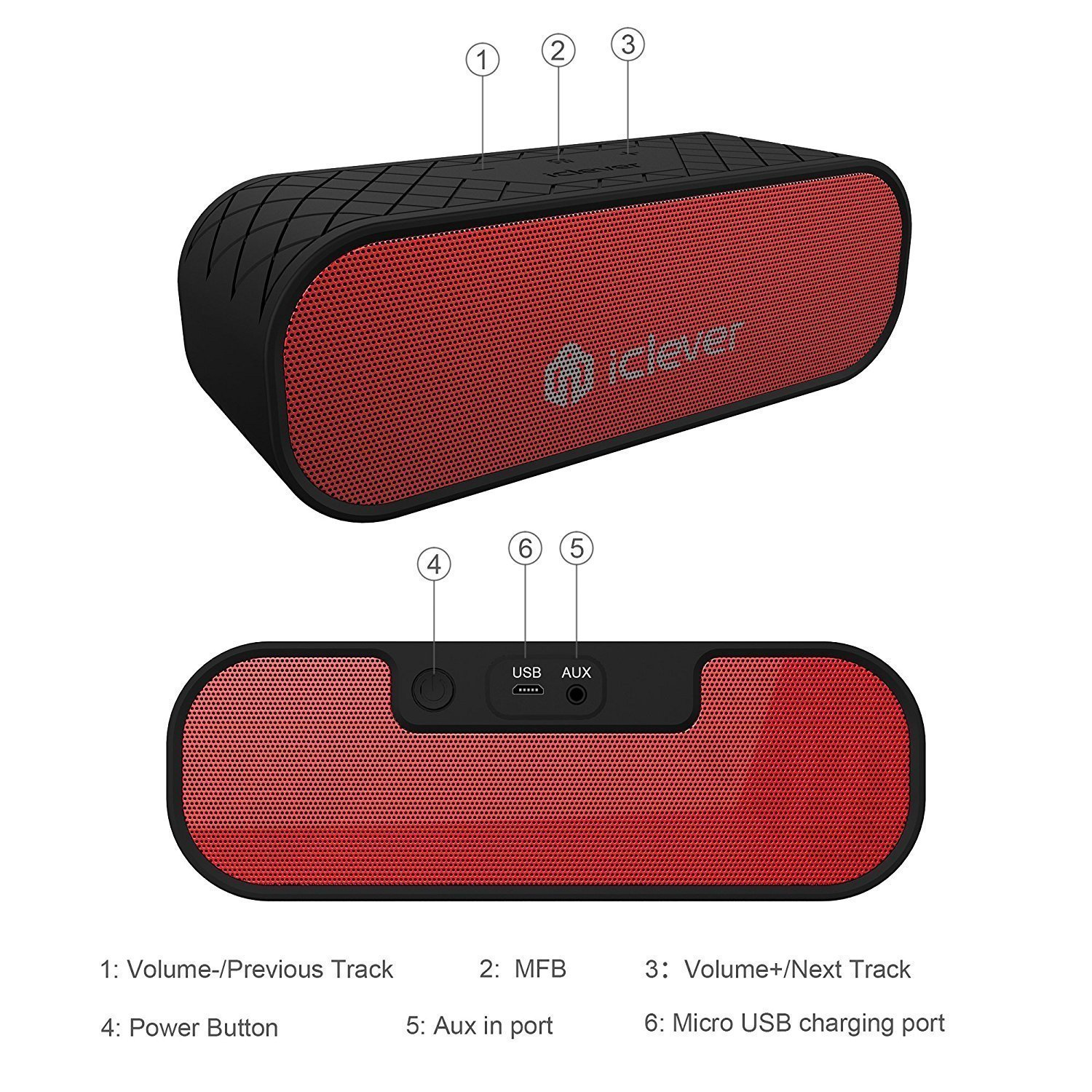 Diffusori Wireless: iClever BoostSound