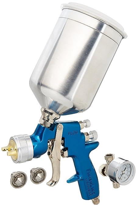 Hvlp Spray Gun Kit >> Devilbiss Finishline 4 Flg 670 Solvent Based Hvlp Gravity Feed Paint Gun