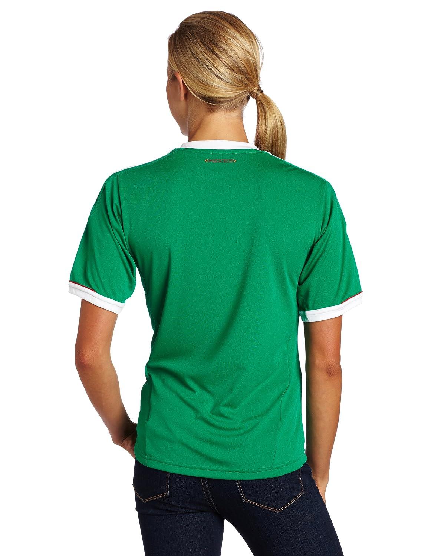 Amazon.com: México Casa Soccer Jersey de la mujer, Verde, XL ...