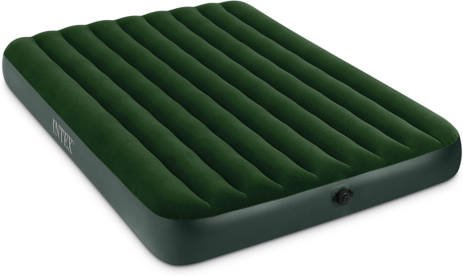 Intex Prestige Downy Airbed Kit with Hand Held Battery Pump, Queen: Sports & Outdoors