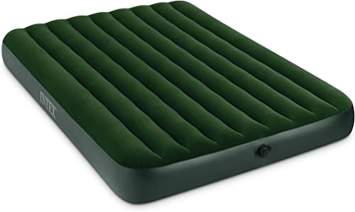 Intex Prestige Downy Airbed Kit with Hand Held Battery Pump