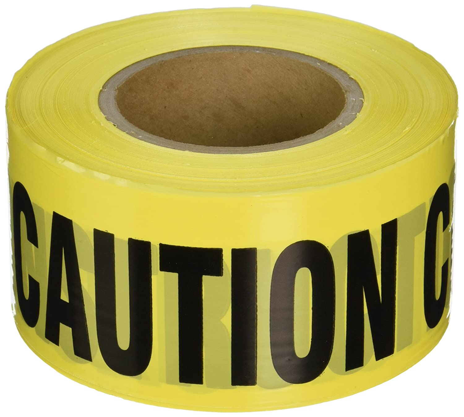 IRWIN Tools STRAIT-LINE 66211 Barrier Tape Roll, CAUTION - CONSTRUCTION, 3-inch by 1000-foot (66211)