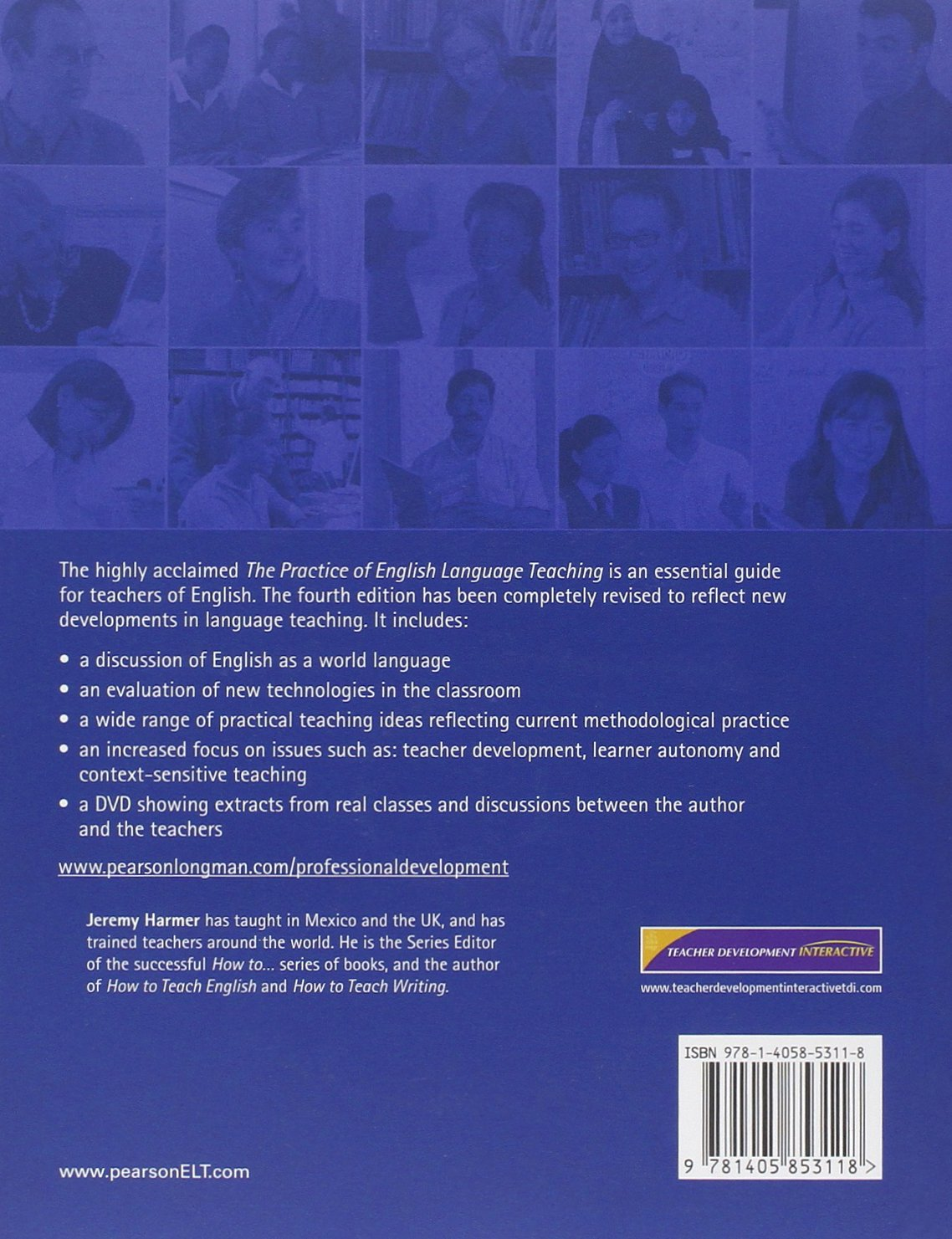 The Practice of English Language Teaching with DVD (4th Edition) (Longman Handbooks for Language Teachers) by Brand: Pearson Longman ELT