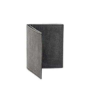 a64d6fbd56490 Extrem Kleiner dünner Geldbeutel Herren mit Münzfach und RFID-Schutz für  vordere Hosentasche von FRITZVOLD
