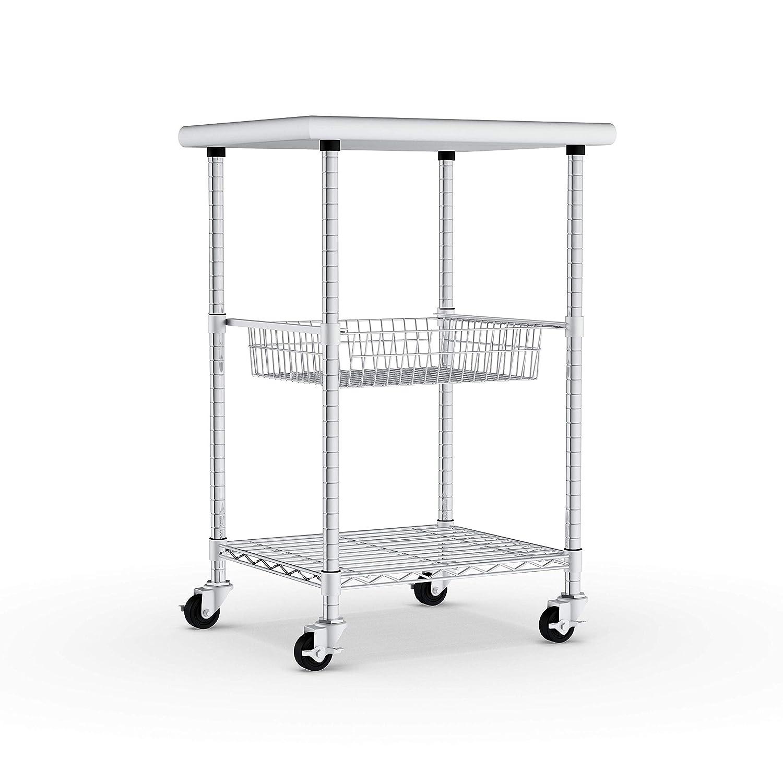 Amazon.com - Porch & Den Stainless Steel Kitchen Work Table ...