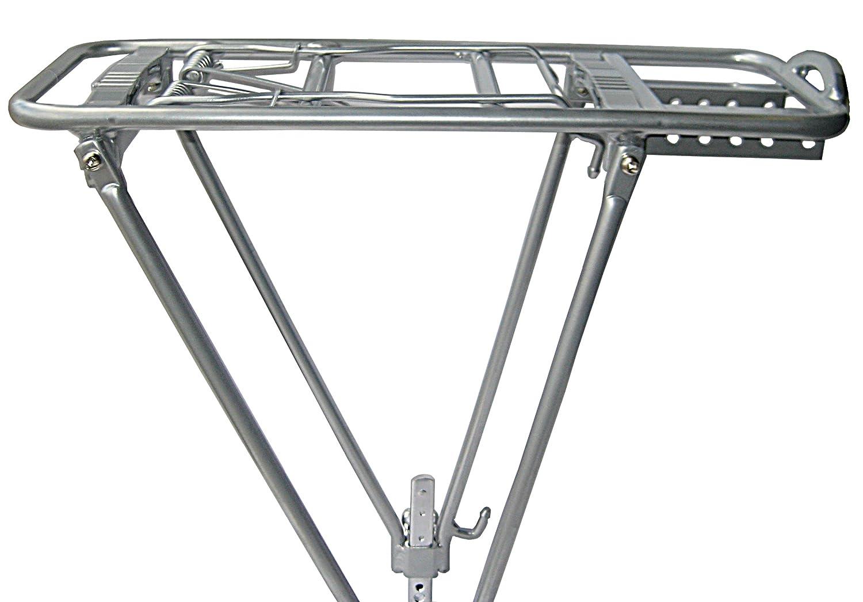 Bike Rack Rear Silver 2 Leg Aluminum Rear Bike Rack