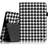 """Fintie Kindle Fire HD 7"""" (2013 Old Model) Slim Fit Folio Case with Auto Sleep / Wake Feature (will only fit Amazon Kindle Fire HD 7, Previous Generation - 3rd), Houndstooth Black"""