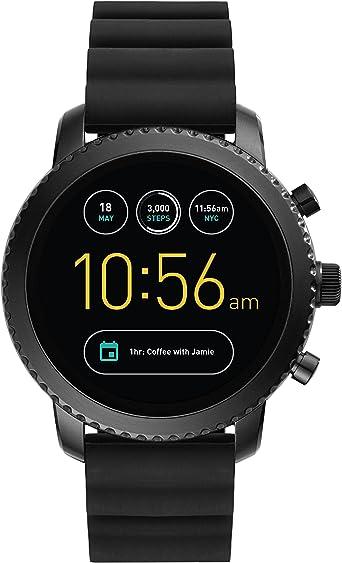 Smartwatch Fossil Q Explorist de Hombre Gen 3, Caja de acero ...