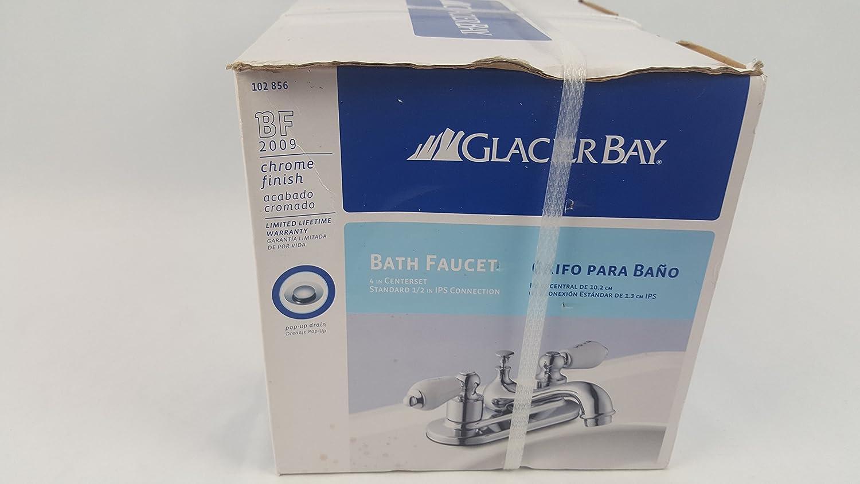 Glacier Bay Bathroom Faucet: Bathroom Sink Faucets: Amazon.com ...