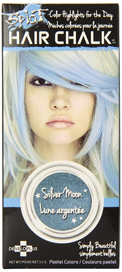 Splat Hair Chalk Silver Moon Amazon Beauty