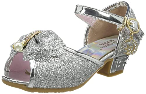 6f78c58deb27 Scarpe Con Tacco Bambina Ragazza Principessa Ballerina Costume Sandali -  Tyidalin Perline e Paillettes Eleganti Glitter