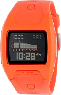 Nixon Lodown Watch - Mens Neon Orange, One Size