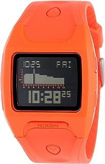 Nixon Lodown Watch - Mens Neon Orange, One Size