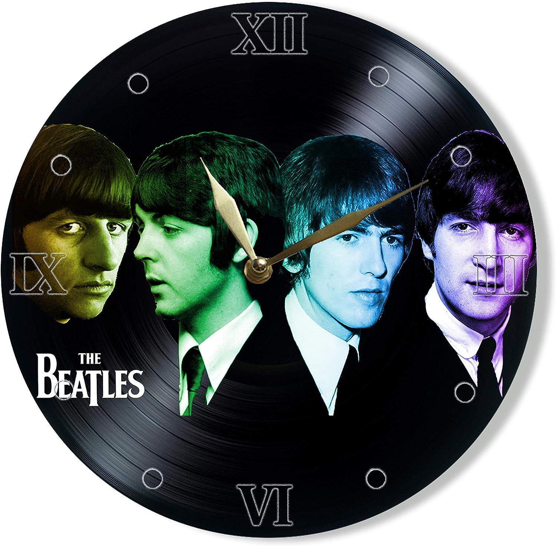 Beatles Vinyl Clock 12
